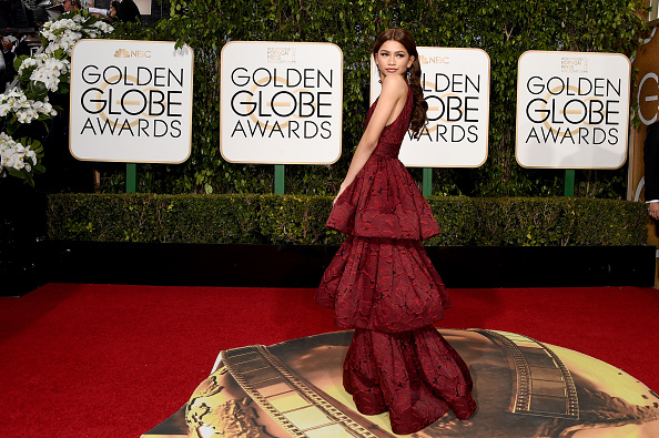 BEVERLY HILLS, CA – JANUARY 10:  Actress/singer Zendaya attends the 73rd Annual Golden Globe Awards held at the Beverly Hilton Hotel on January 10, 2016 in Beverly Hills, California.  (Photo by Jason Merritt/Getty Images)
