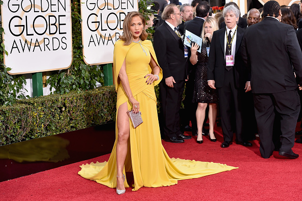 BEVERLY HILLS, CA – JANUARY 10:  Actress Jennifer Lopez attends the 73rd Annual Golden Globe Awards held at the Beverly Hilton Hotel on January 10, 2016 in Beverly Hills, California.  (Photo by John Shearer/Getty Images)