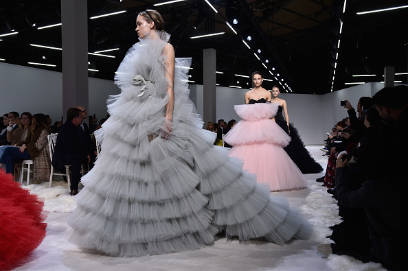 PARIS, FRANCE – JANUARY 25:  Models walk the runway during the Giambattista Valli Spring Summer 2016 show as part of Paris Fashion Week on January 25, 2016 in Paris, France.  (Photo by Pascal Le Segretain/Getty Images)