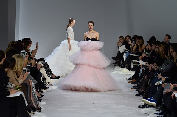PARIS, FRANCE – JANUARY 25:  A model walks the runway at the Giambattista Valli Spring Summer 2016 fashion show during Paris Haute Couture Fashion Week on January 25, 2016 in Paris, France.  (Photo by Catwalking/Getty Images)
