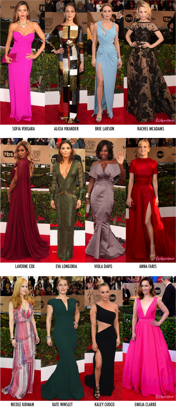 LOOKS SAG AWARDS 2016
