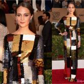 SAG AWARDS 2016: ALICIA VIKANDER