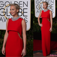GOLDEN GLOBE 2016: JENNIFER LAWRENCE