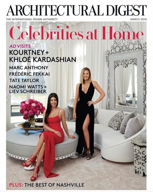 casa kourtney e khloé kardashian
