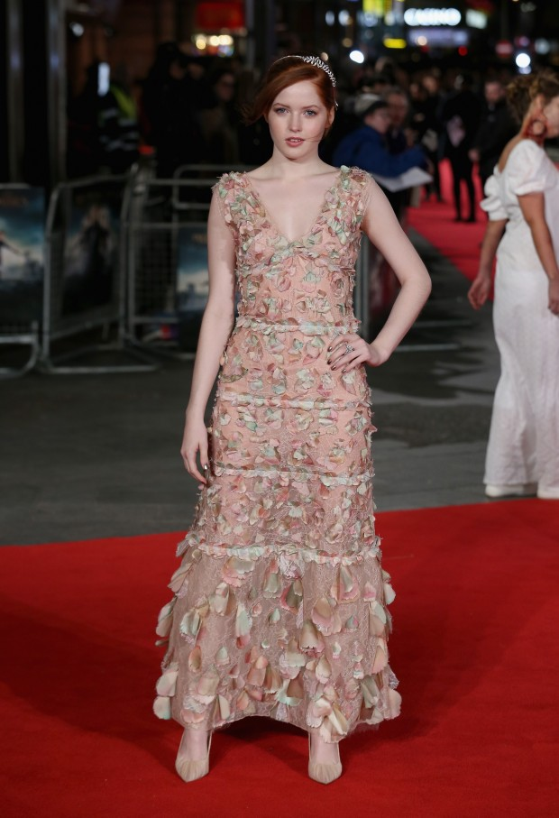 """LONDON, ENGLAND - FEBRUARY 01:  Ellie Bamber attends the European premiere of """"Pride And Prejudice And Zombies"""" at Vue West End on February 1, 2016 in London, England.  (Photo by Chris Jackson/Getty Images)"""