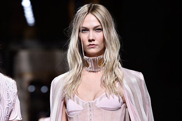 PARIS, FRANCE – MARCH 03:  Karlie Kloss walks the runway during the Balmain show as part of the Paris Fashion Week Womenswear Fall/Winter 2016/2017 on March 3, 2016 in Paris, France.  (Photo by Pascal Le Segretain/Getty Images)