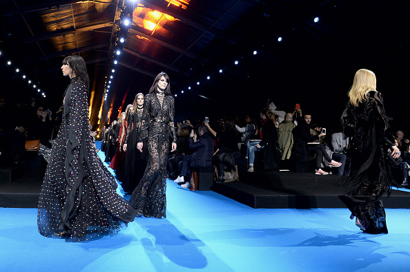 PARIS, FRANCE – MARCH 05:  Models walk the runway during the Elie Saab show as part of the Paris Fashion Week Womenswear Fall/Winter 2016/2017 on March 5, 2016 in Paris, France.  (Photo by Dominique Charriau/WireImage)