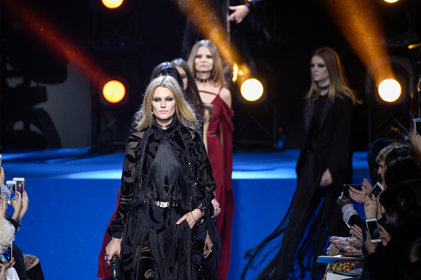 PARIS, FRANCE – MARCH 05:  Models walk the runway during the Elie Saab show as part of the Paris Fashion Week Womenswear Fall/Winter 2016/2017 on March 5, 2016 in Paris, France.  (Photo by Peter White/Getty Images)