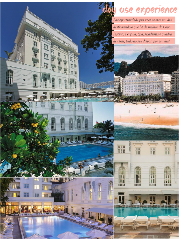 copacabana palace day use