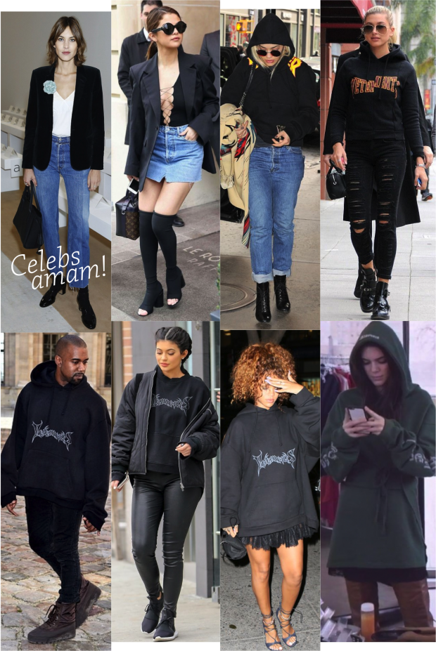vetements celebrities