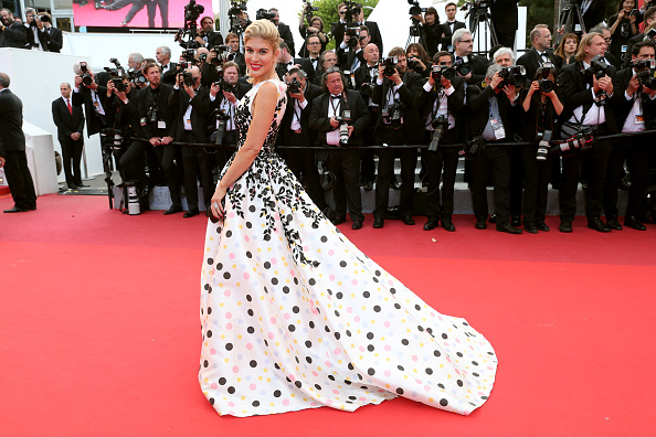 "CANNES, FRANCE – MAY 12:  Hofit Golan attends the ""Money Monster"" premiere during the 69th annual Cannes Film Festival at the Palais des Festivals on May 12, 2016 in Cannes, France.  (Photo by Gisela Schober/Getty Images)"