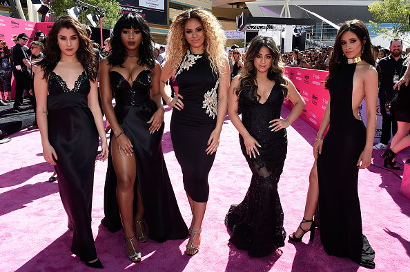 LAS VEGAS, NV – MAY 22: (L-R) Recording artists Lauren Jauregui, Normani Hamilton, Dinah-Jane Hansen, Ally Brooke and Camila Cabello of Fifth Harmony attend the 2016 Billboard Music Awards at T-Mobile Arena on May 22, 2016 in Las Vegas, Nevada.  (Photo by Frazer Harrison/BBMA2016/Getty Images for dcp)