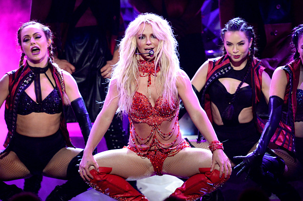 LAS VEGAS, NV – MAY 22:  Recording artist Britney Spears performs onstage during the 2016 Billboard Music Awards at T-Mobile Arena on May 22, 2016 in Las Vegas, Nevada.  (Photo by Kevin Winter/Getty Images)