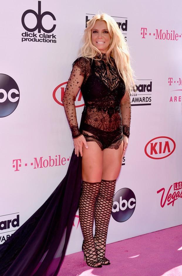Britney Spears Billboard 2016