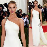 Baile do Met 2016: Rosie Huntington