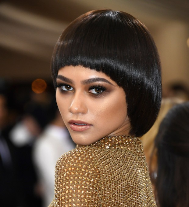 """NEW YORK, NY – MAY 02:  Zendaya attends the """"Manus x Machina: Fashion In An Age Of Technology"""" Costume Institute Gala at Metropolitan Museum of Art on May 2, 2016 in New York City.  (Photo by Larry Busacca/Getty Images)"""
