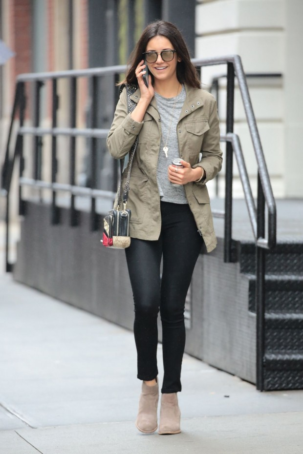 11 Looks Da Nina Dobrev Por A Fashionismo