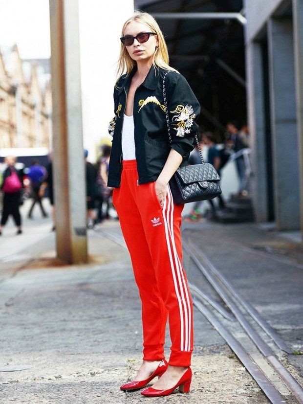 track pants fashion