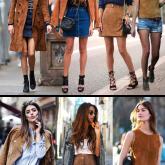 Atualize o look inverno: Misturando couro com jeans