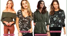 25 formas de atualizar o look inverno com a tendência militar!