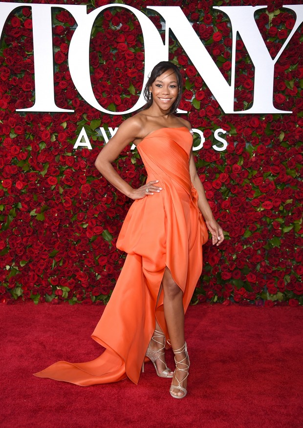 NEW YORK, NY – JUNE 12:  Actress Nikki M. James attends the 70th Annual Tony Awards at The Beacon Theatre on June 12, 2016 in New York City.  (Photo by Dimitrios Kambouris/Getty Images for Tony Awards Productions)