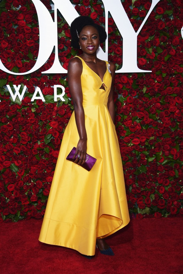 NEW YORK, NY – JUNE 12:  Actress Danai Gurira attends the 70th Annual Tony Awards at The Beacon Theatre on June 12, 2016 in New York City.  (Photo by Dimitrios Kambouris/Getty Images for Tony Awards Productions)