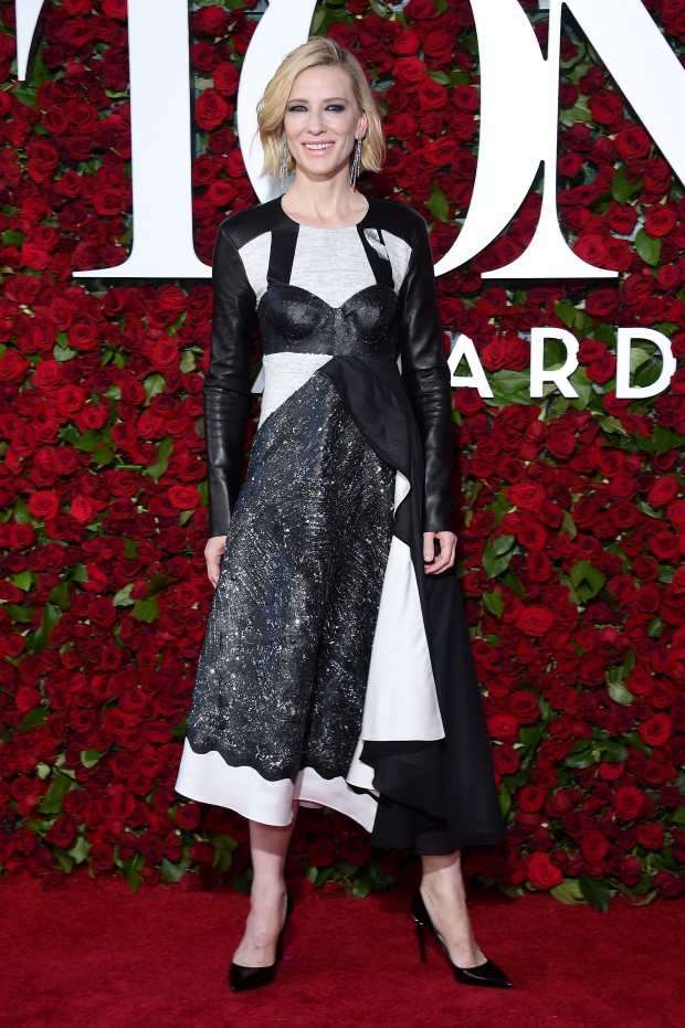 NEW YORK, NY – JUNE 12:  Actress Cate Blanchett attends the 70th Annual Tony Awards at The Beacon Theatre on June 12, 2016 in New York City.  (Photo by Dimitrios Kambouris/Getty Images for Tony Awards Productions)
