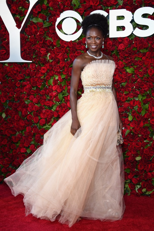 NEW YORK, NY – JUNE 12:  Actress Zainab Jah attends the 70th Annual Tony Awards at The Beacon Theatre on June 12, 2016 in New York City.  (Photo by Dimitrios Kambouris/Getty Images for Tony Awards Productions)