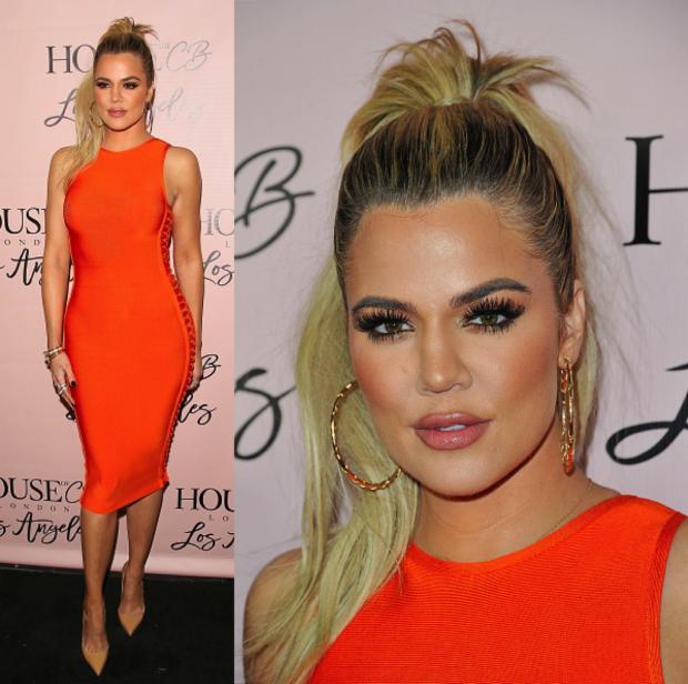 khloe kardashian orange