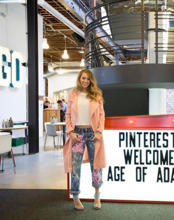 Blake Lively Pinterest Office