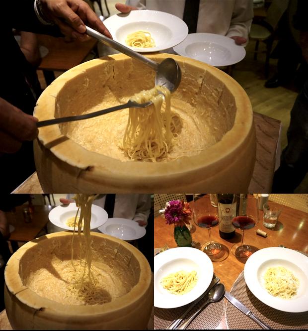 benedictine restaurante tacho grana padano