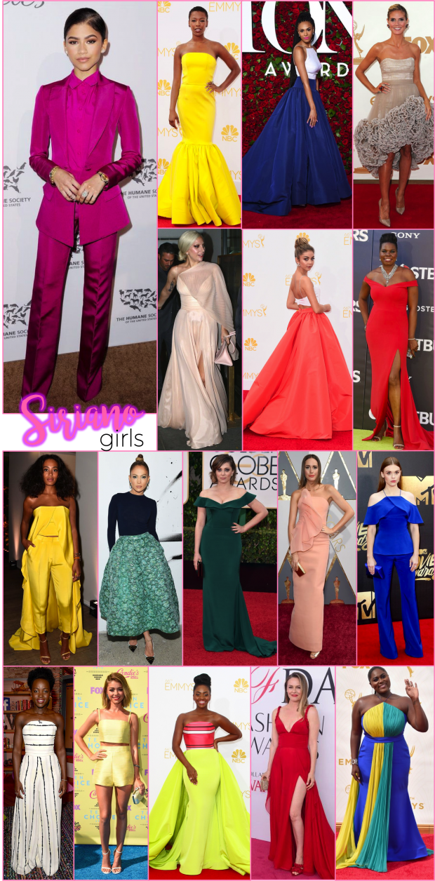 christian siriano red carpet