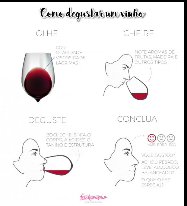 degustar vinho