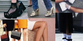 Trend alert: meias exibidas!