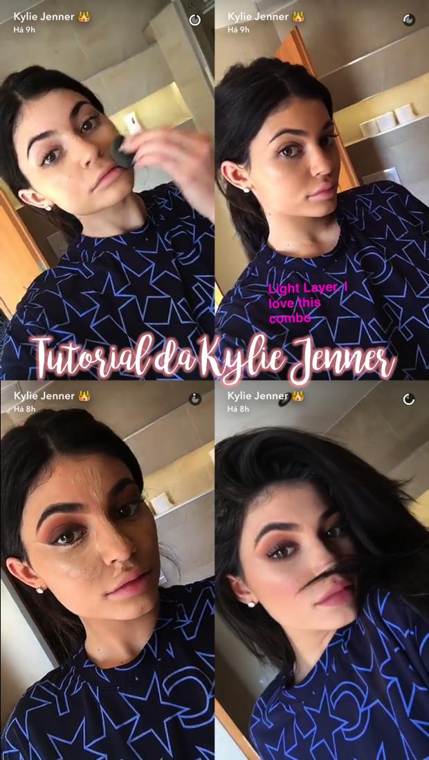 tutorial maquiagem kylie jenner