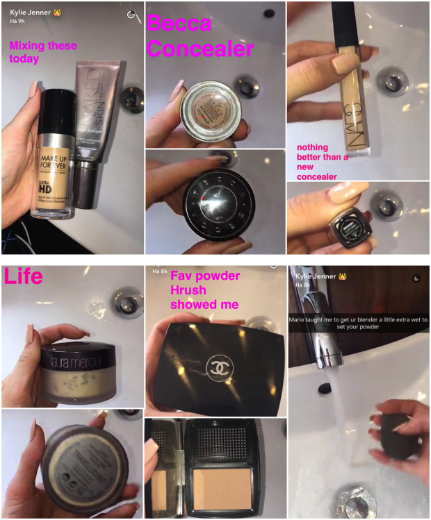 tutorial maquiagem kylie jenner pele