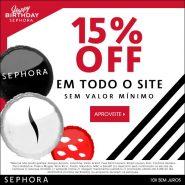 Aniversário da Sephora, minha wishlist + 15%OFF!