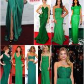 SOS Festa: Vestido verde!