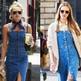 Desejando fortemente: Vestido jeans