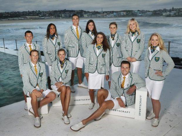 Uniforme das Olimpíadas - Australia