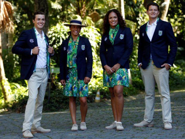 Uniforme das Olimpíadas - Brasil
