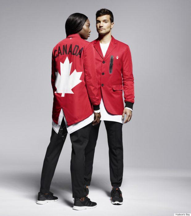 Uniforme das Olimpíadas - Canadá