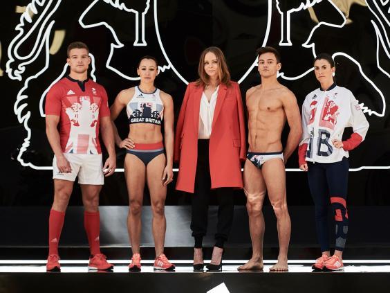 Uniforme das Olimpíadas - United Kingdom