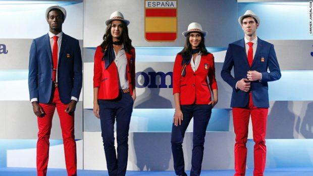Uniforme das Olimpíadas - Espanha