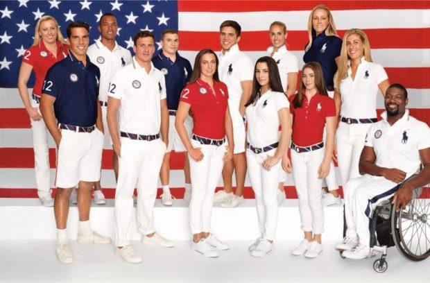 Uniforme das Olimpíadas -  Estados Unidos