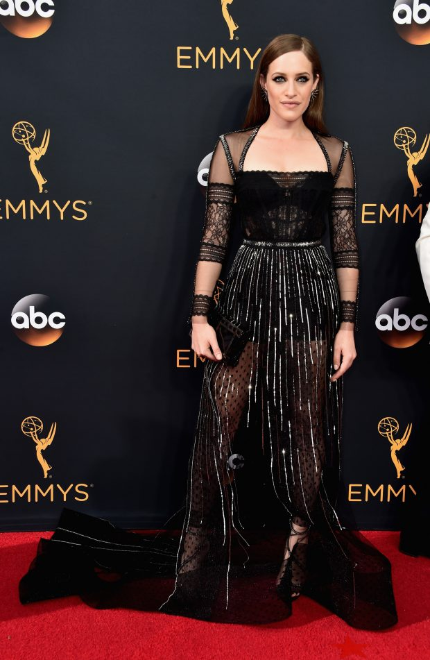 Carly Chaikin emmy 2016
