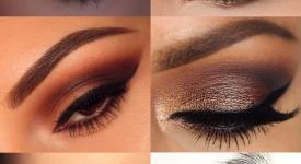 Pra inspirar: Maquiagem Marrom