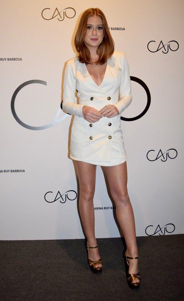 Marina Ruy Barbosa vestido branco