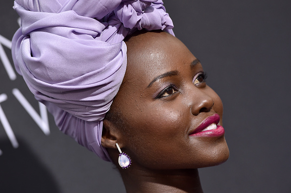 HOLLYWOOD, CA – SEPTEMBER 20:  Actress Lupita Nyong'o arrives at the premiere of Disney's 'Queen of Katwe' at the El Capitan Theatre on September 20, 2016 in Hollywood, California.  (Photo by Axelle/Bauer-Griffin/FilmMagic)