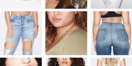 Good American, o close certo da Khloé Kardashian e sua nova linha de jeans